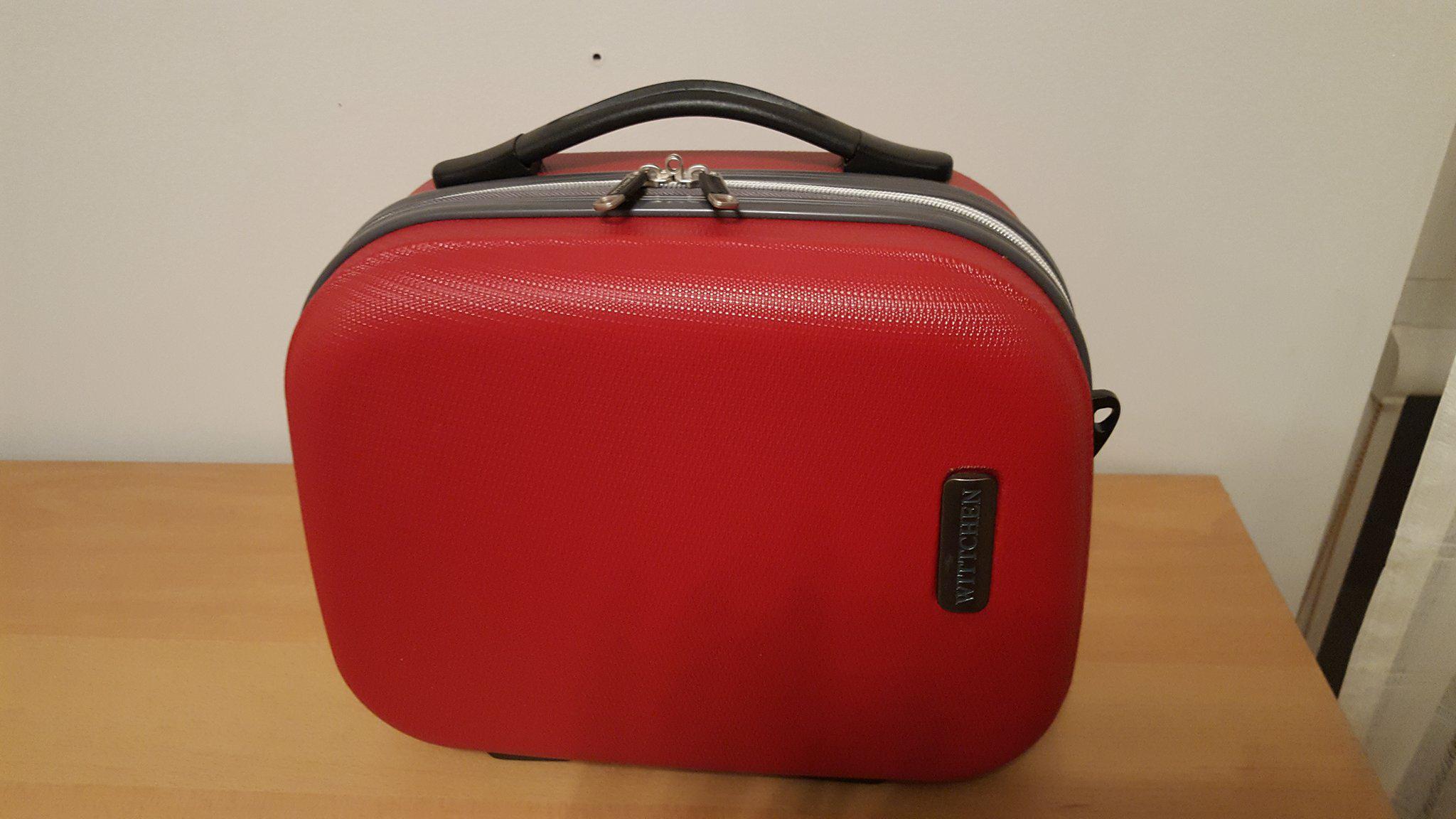 0a29acd6ae4be torebka kosmetyczka Wittchen mini walizka tanio - 7308988390 ...