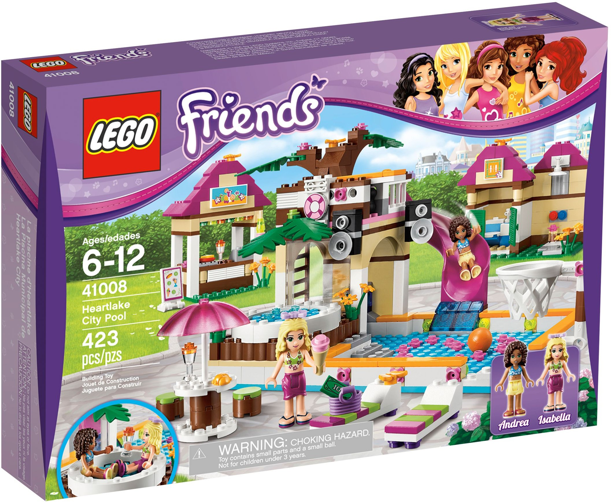 Lego Friends 41008 Basen W Heartlake Bydgoszcz 7083591690