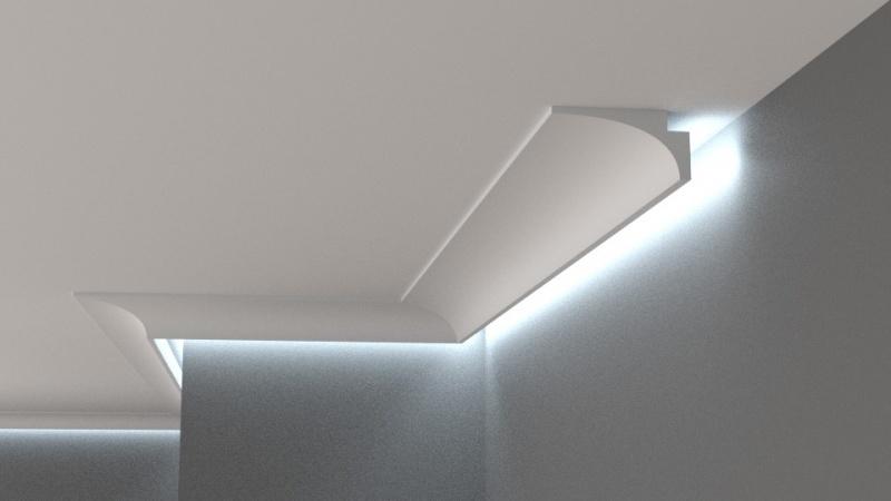 Inteligentny Listwa oświetleniowa, gzyms sufitowy,xps,led,rabat - 7181736311 BM26