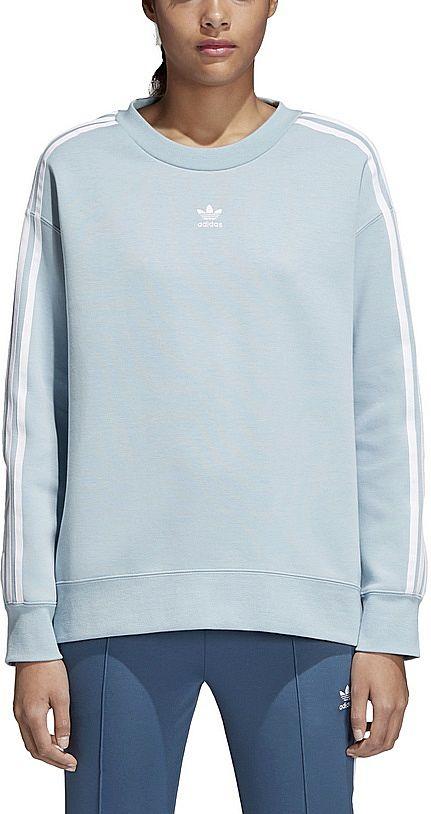 6e2d26704 Adidas Bluza TREFOIL CREW SWEATER (38/M) Damska - 7272707853 ...