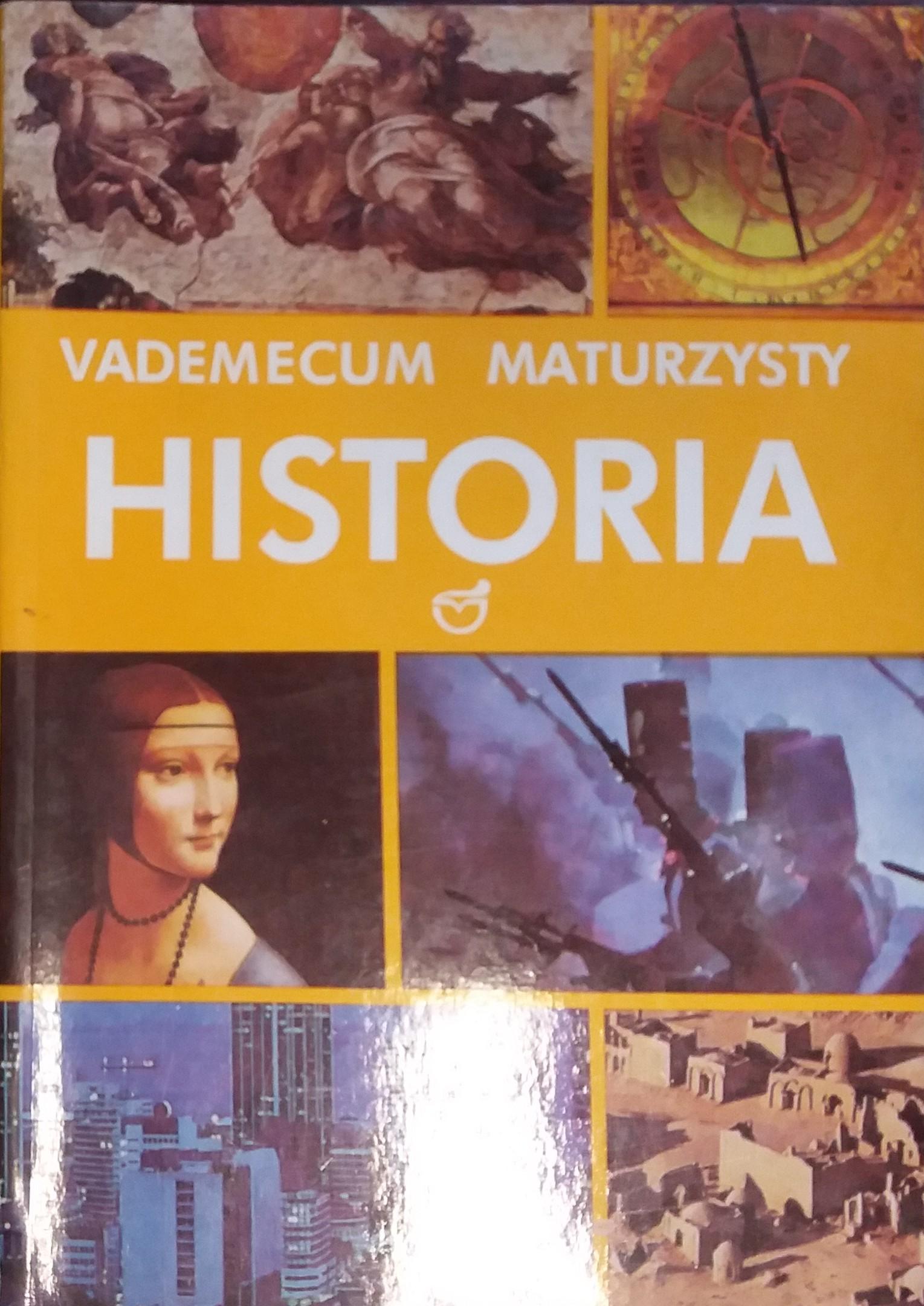 Znalezione obrazy dla zapytania Andrzej Chojnowski Halina Manikowska Vademecum maturzysty - Historia