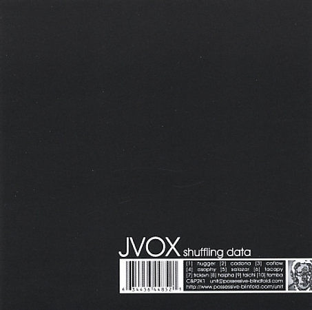 JVOX - SHUFFLING DATA - CD, 2005