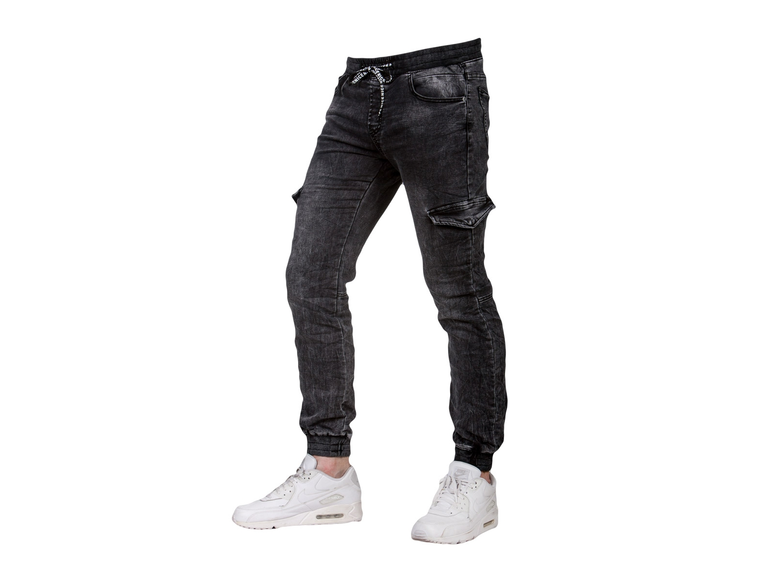 Spodnie joggery grafit 2 KA9875 fashionmen2 r. 35 - 7254459771 ... 671a214b55