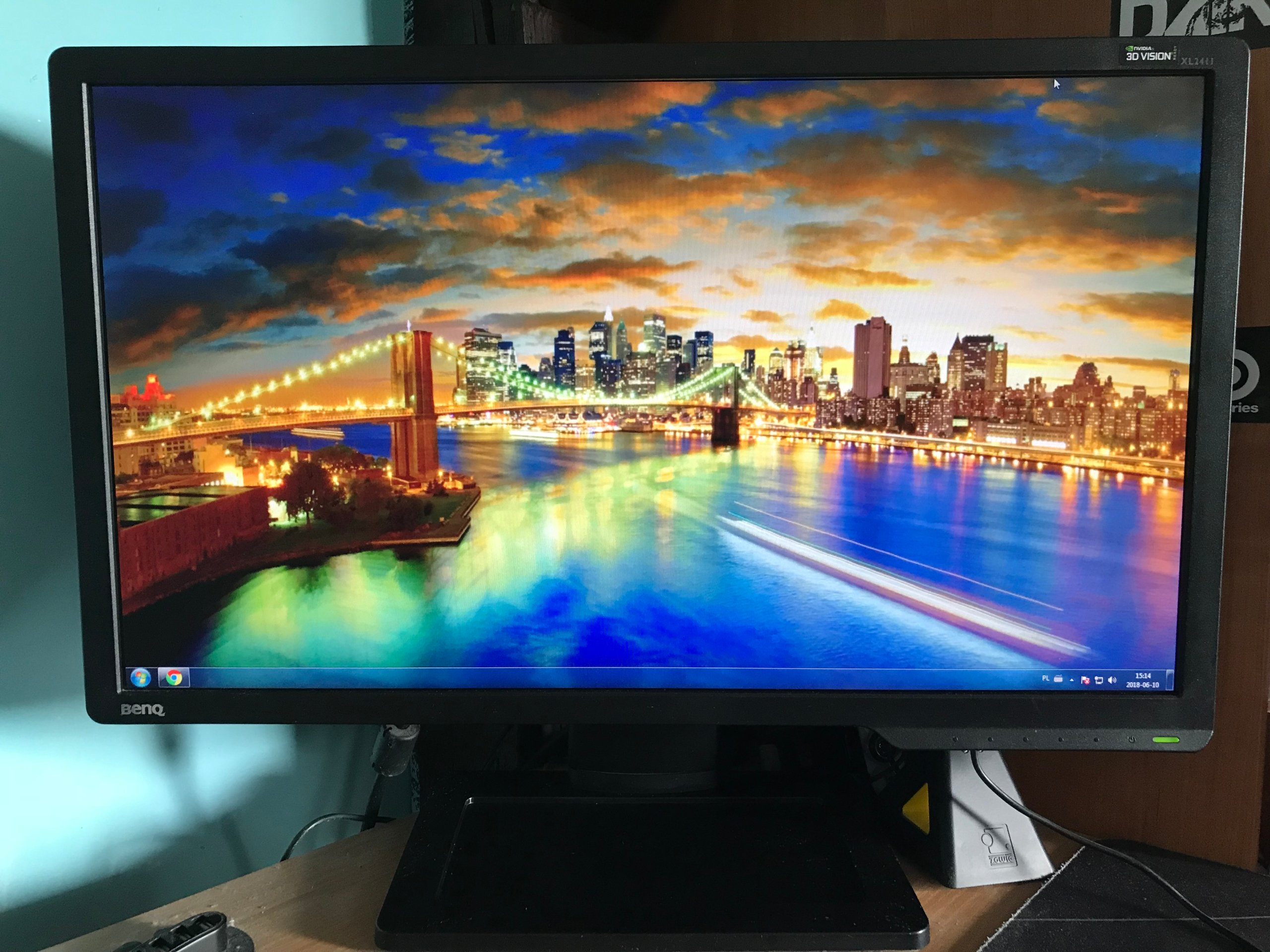 Monitor BENQ XL2411Z 24 Cale FULL HD 144HZ - 7394986627
