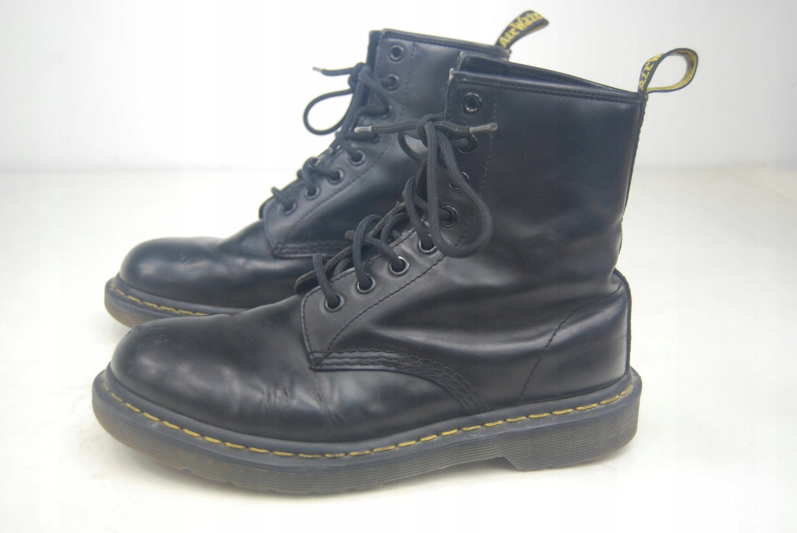 przybywa innowacyjny design buty do separacji Dr martens glany 8 dziurek vegan 38 24,5cm - 7560940626 ...