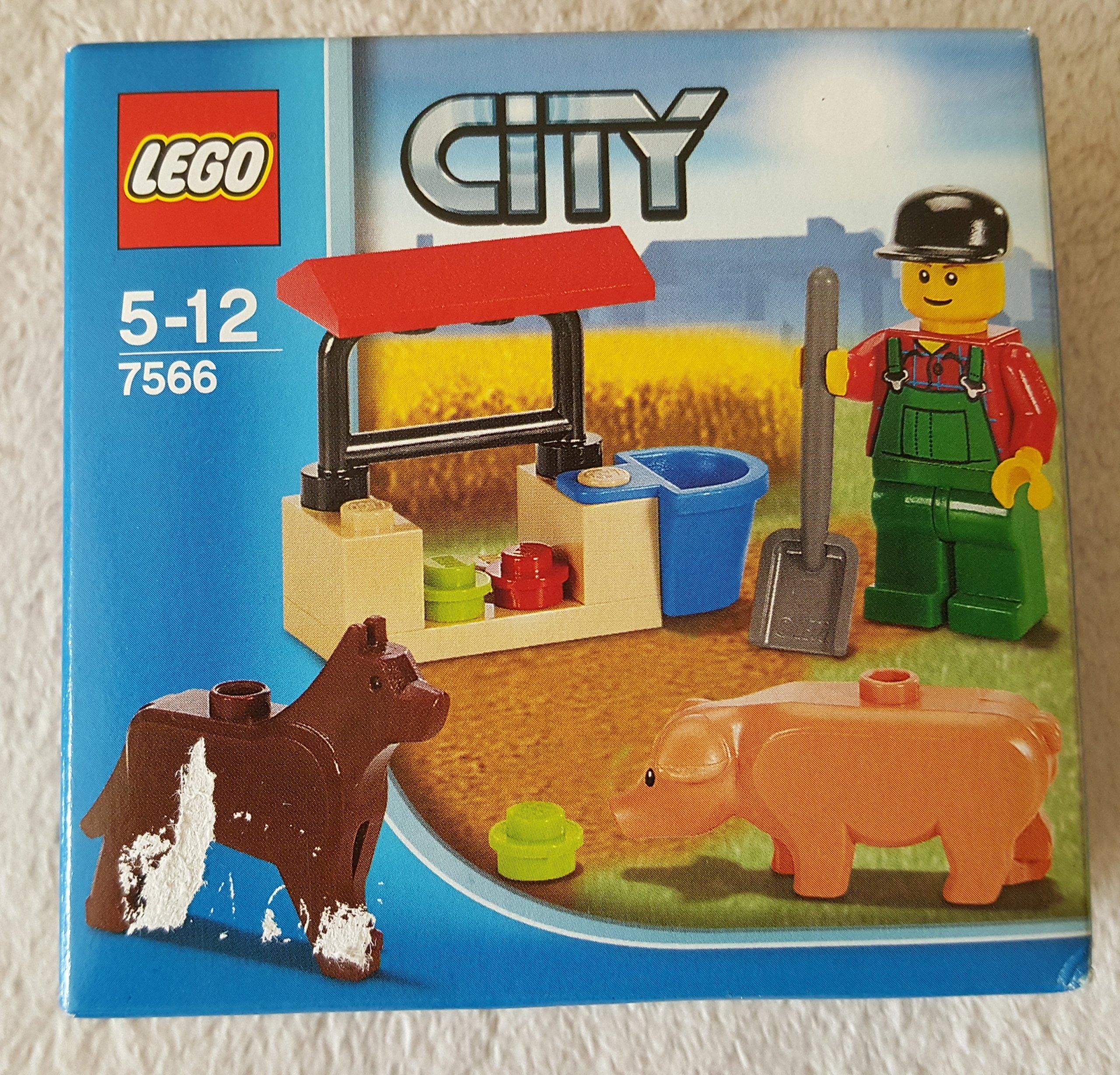 Lego City 7566 Farmer Pies świnka Farma Nowy 7088285367