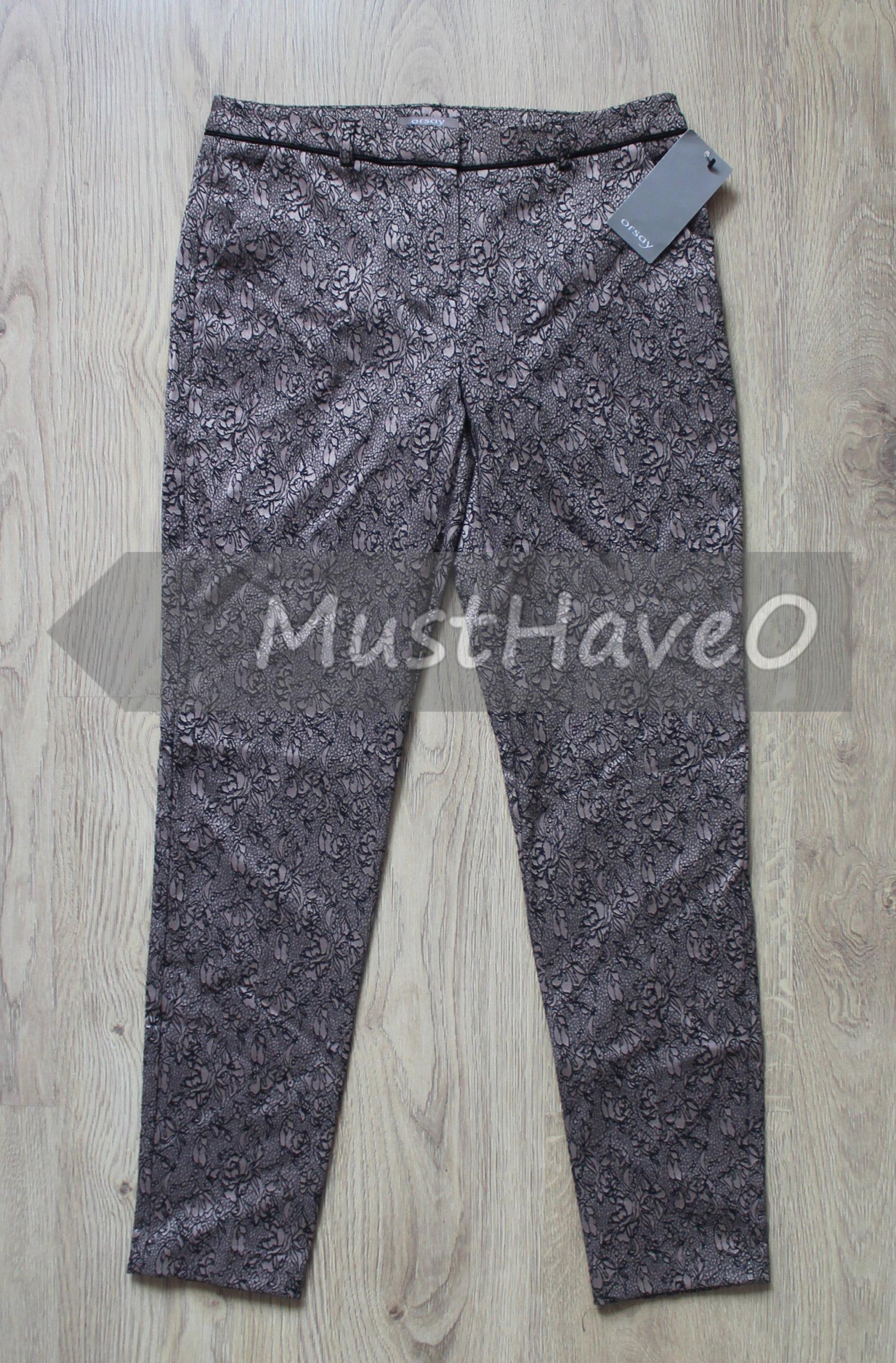 23a2e111ef505 ORSAY Spodnie CYGARETKI brązowe WZÓR XS NEW %% - 6959800498 ...
