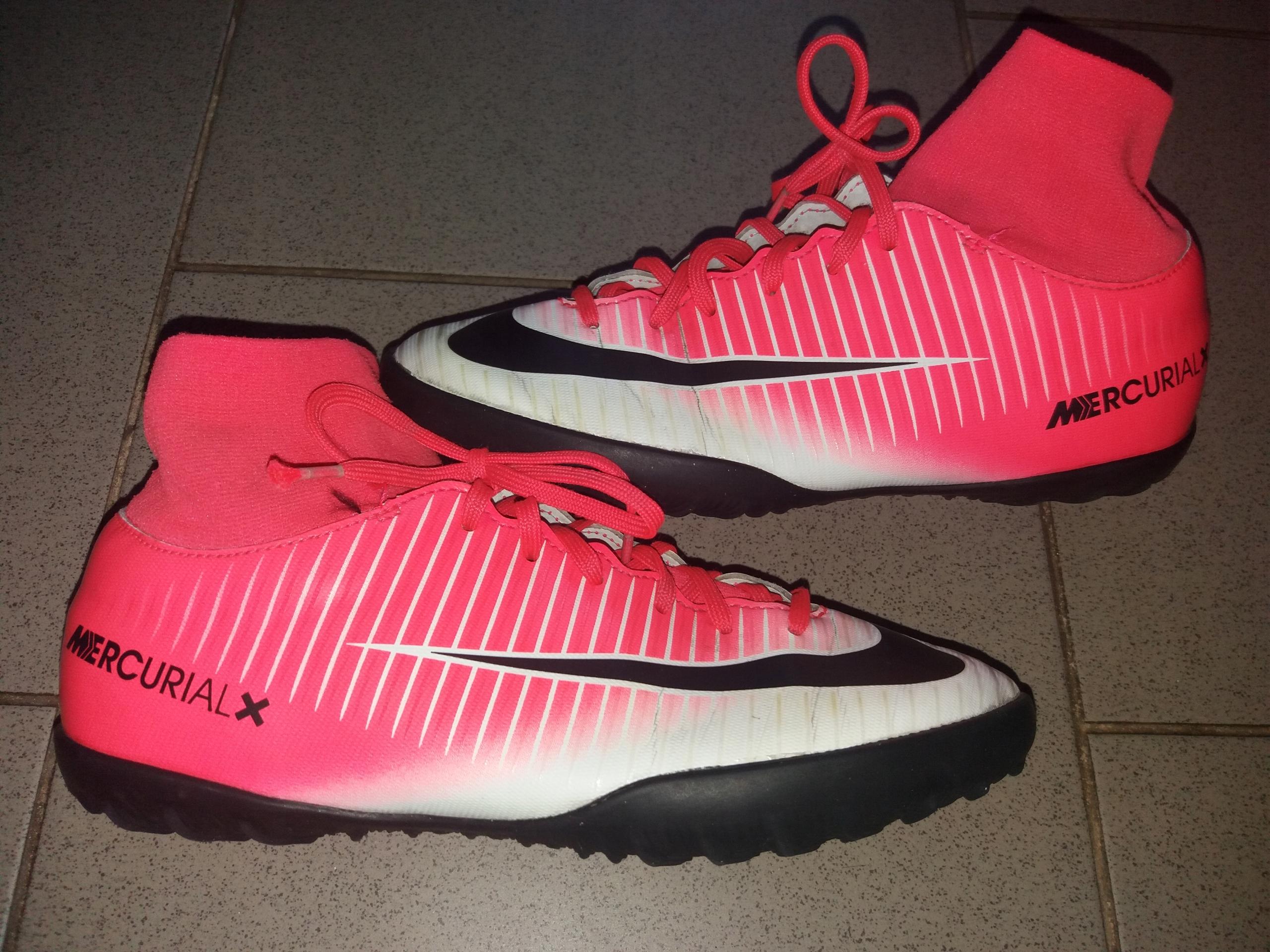 najlepsza wyprzedaż buty na codzień najnowszy projekt Korki buty piłkarskie turfy Nike skarpeta roz. 38