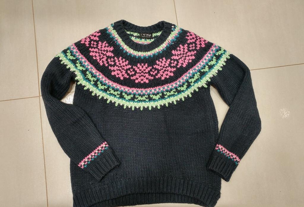 Next sweterek nowy bez metki ,10% wełna 152