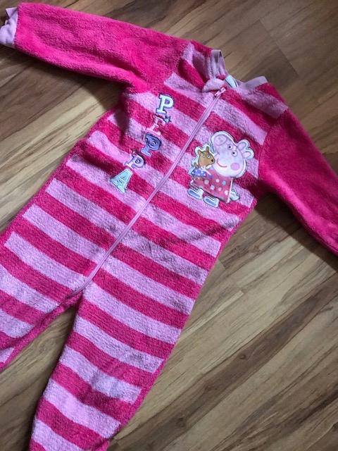 c6e4ead69a5d64 Ciepła piżamka/pajacyk marki George 98cm - 7619909670 - oficjalne ...