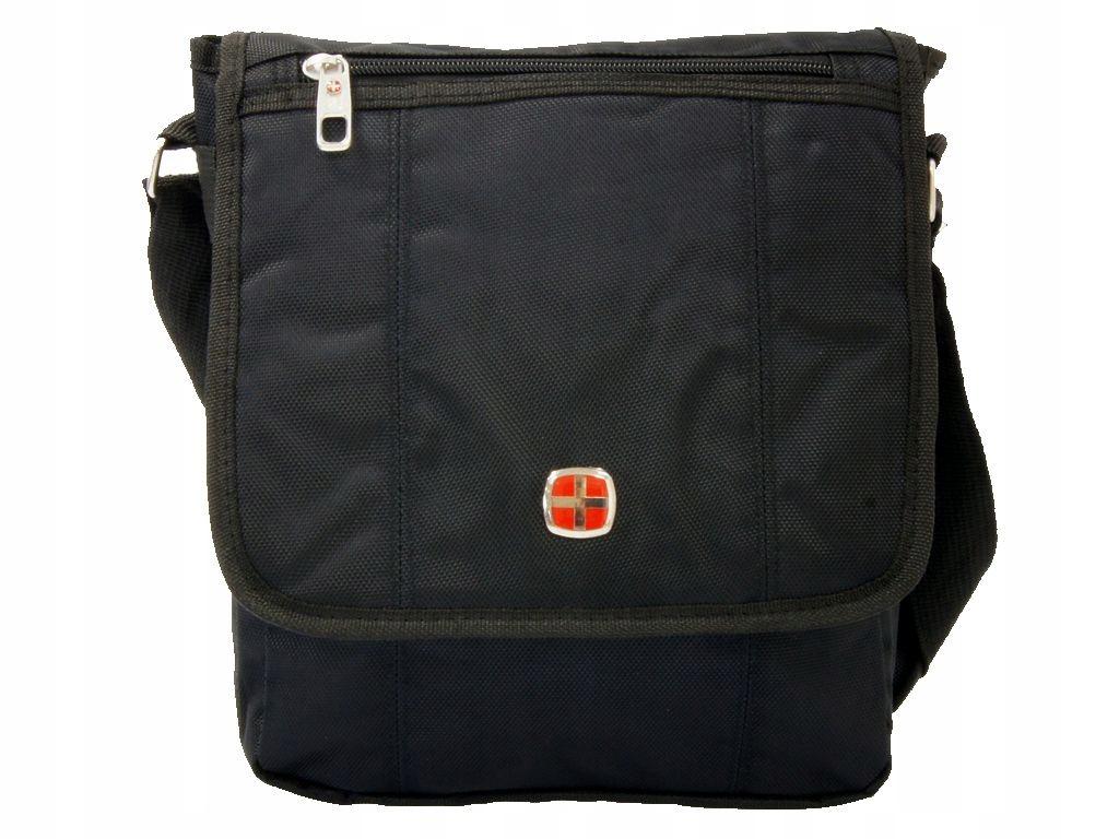 87eaefac6f869 Mocna torba męska na ramię zakupy New Bags czarna - 7658666617 ...