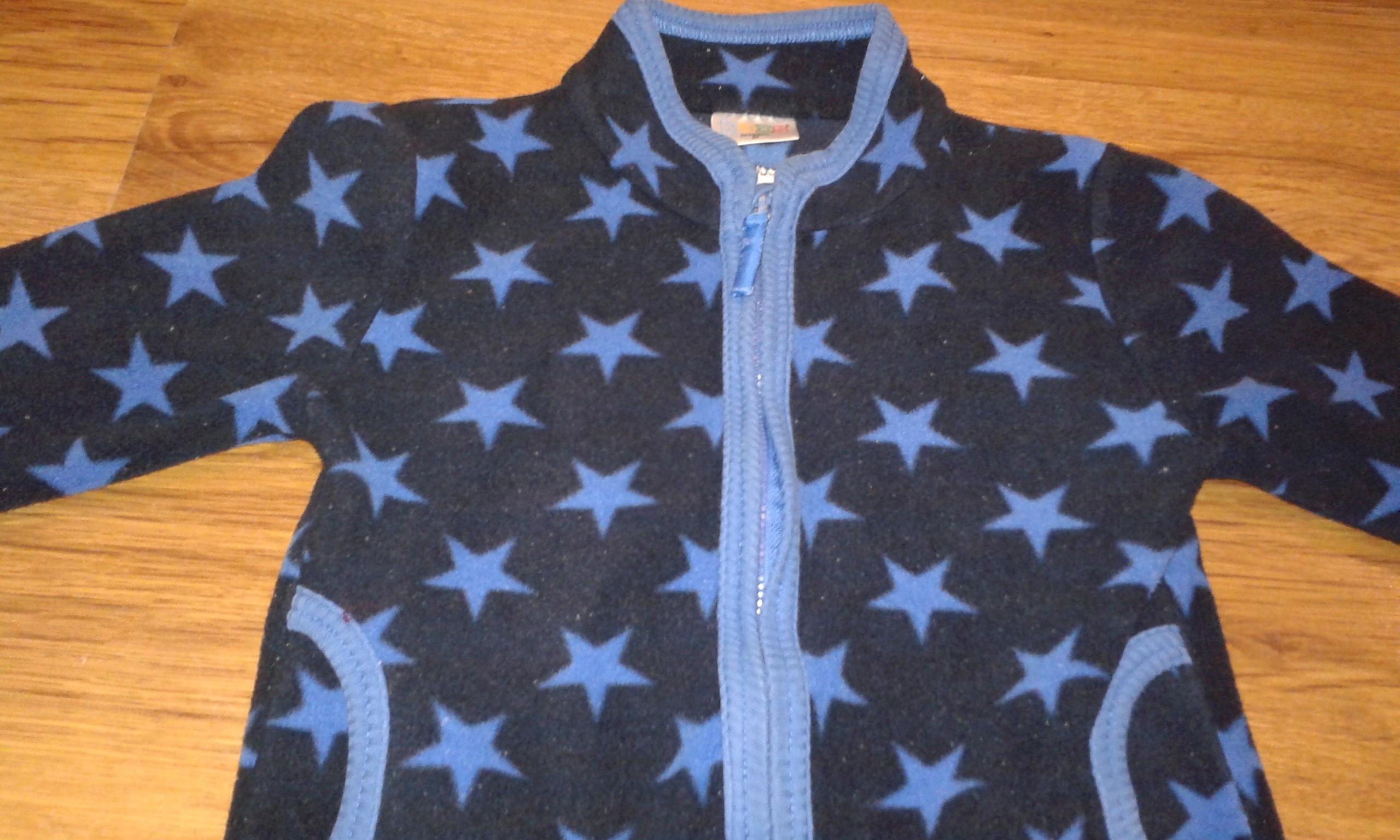 Bluza polarowa w gwiazdy 86