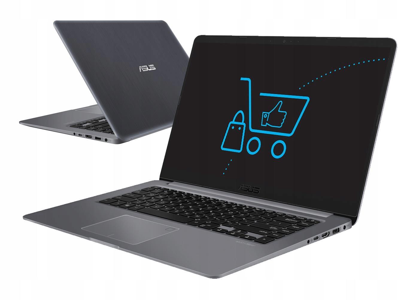 ASUS VivoBook S510UN i5 8GB 256SSD+1TB MX150 MAT