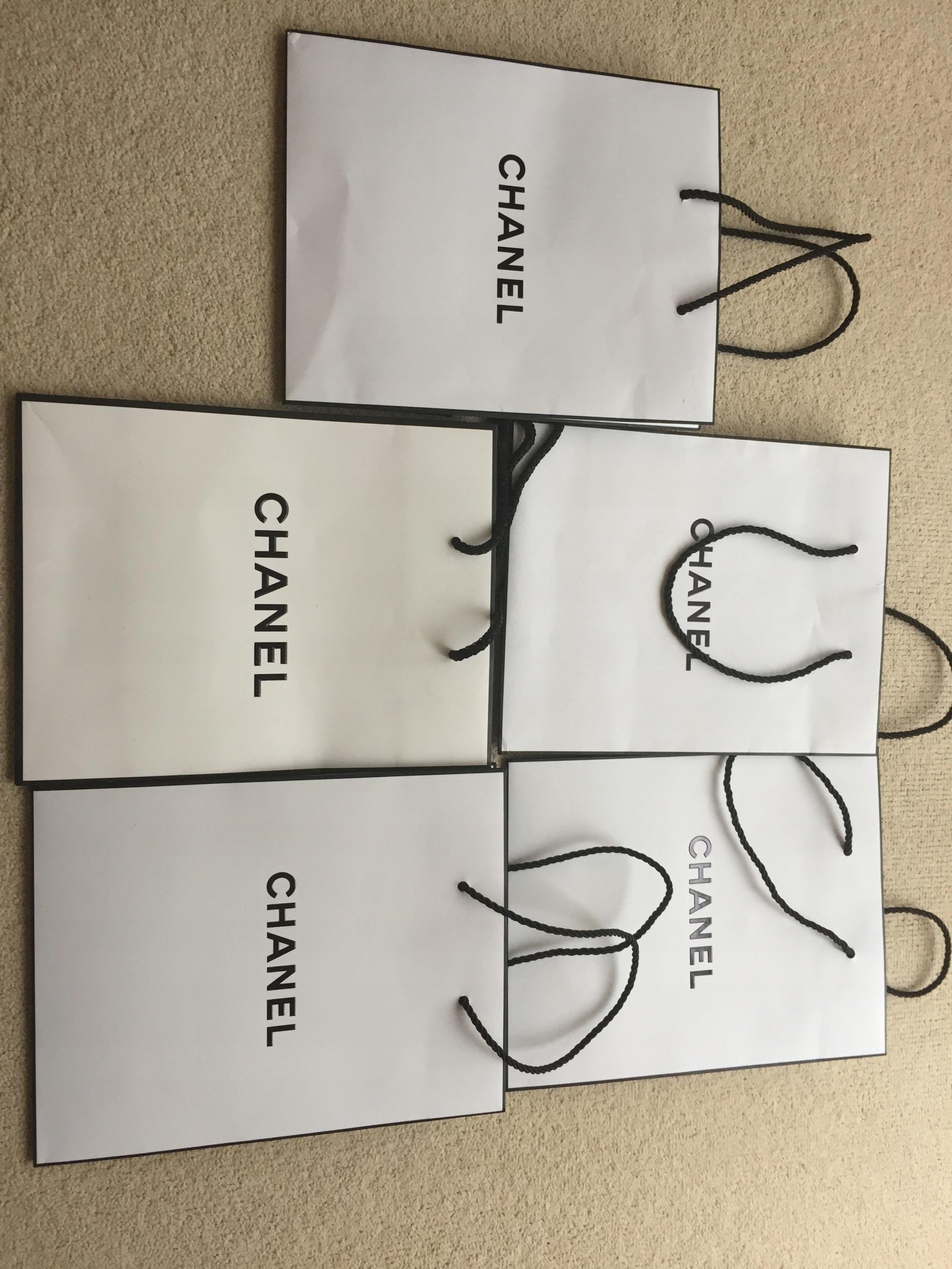 9c91937196771 Chanel oryginalna mała torebka prezentowa biała, - 7567660791 ...