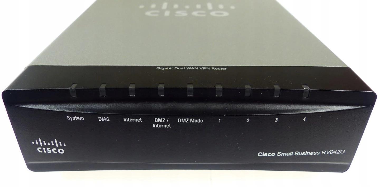 Router Cisco RV042G GIGABIT DUAL WAN VPN - 7578930092