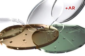 Szkła korekcyjne Hoya 1.6 BARWIONE