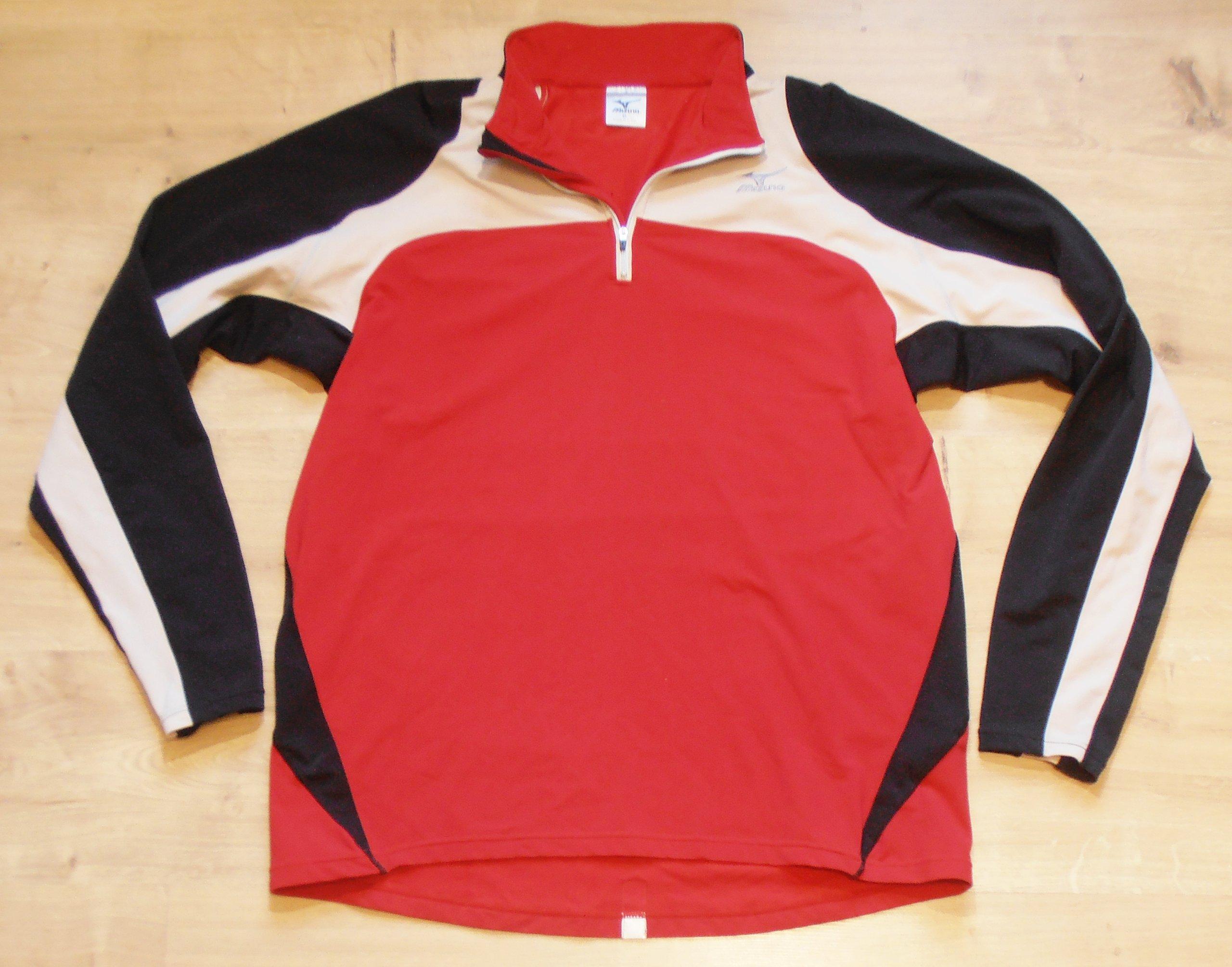 Mizuno elastyczna bluza do biegania odblaski r. XL