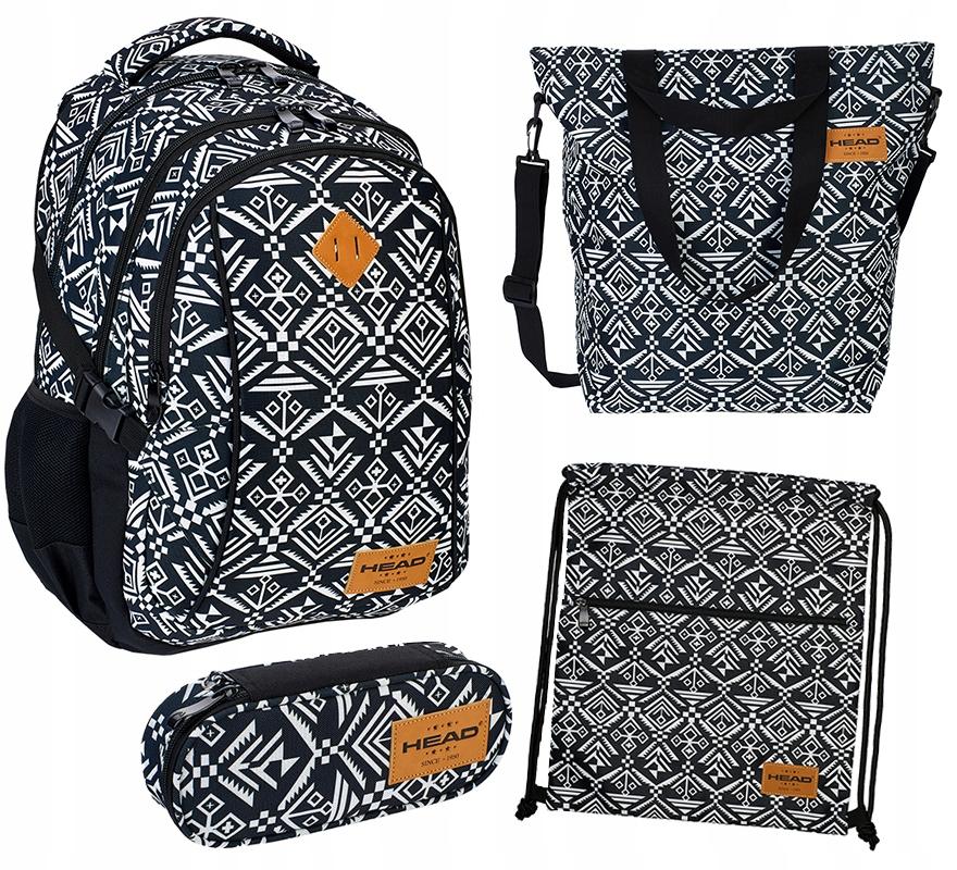 37cfbd0688872 Zestaw plecak piórnik worek szkolny torba HD-74 - 7243176298 ...