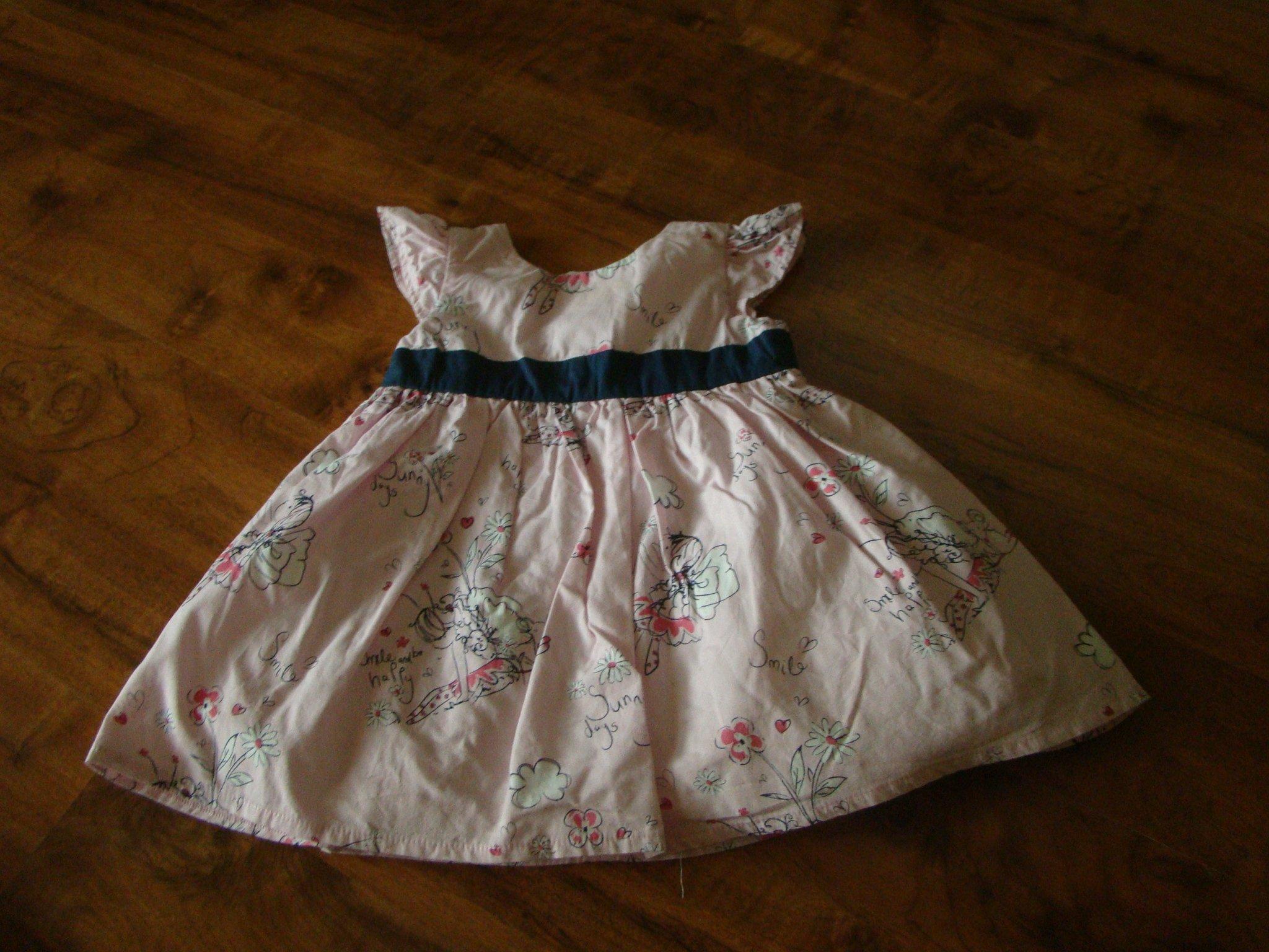 02bd0860e3 sukienka dziewczęca różowa - 7058864589 - oficjalne archiwum allegro