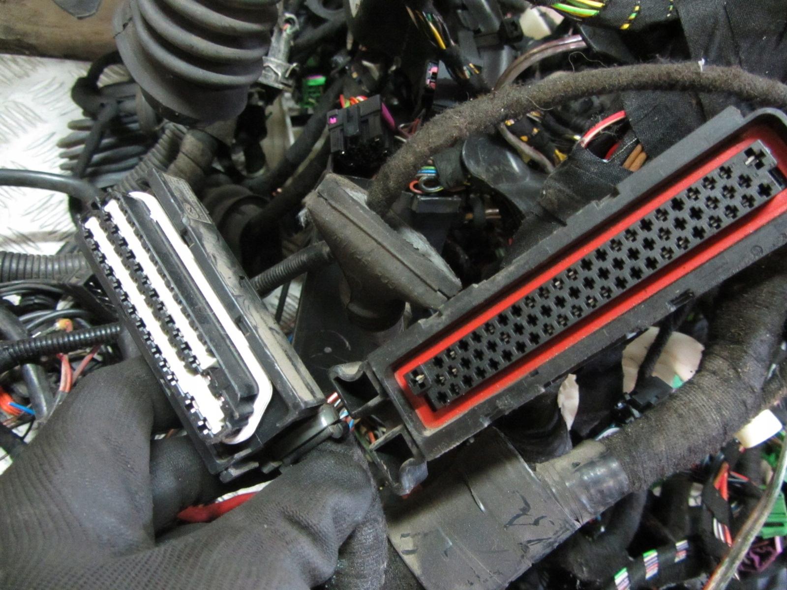 Ogromnie VW GOLF IV 4 Wiązka instalacja elektryczna 1.9 TDI - 7405008982 CJ69