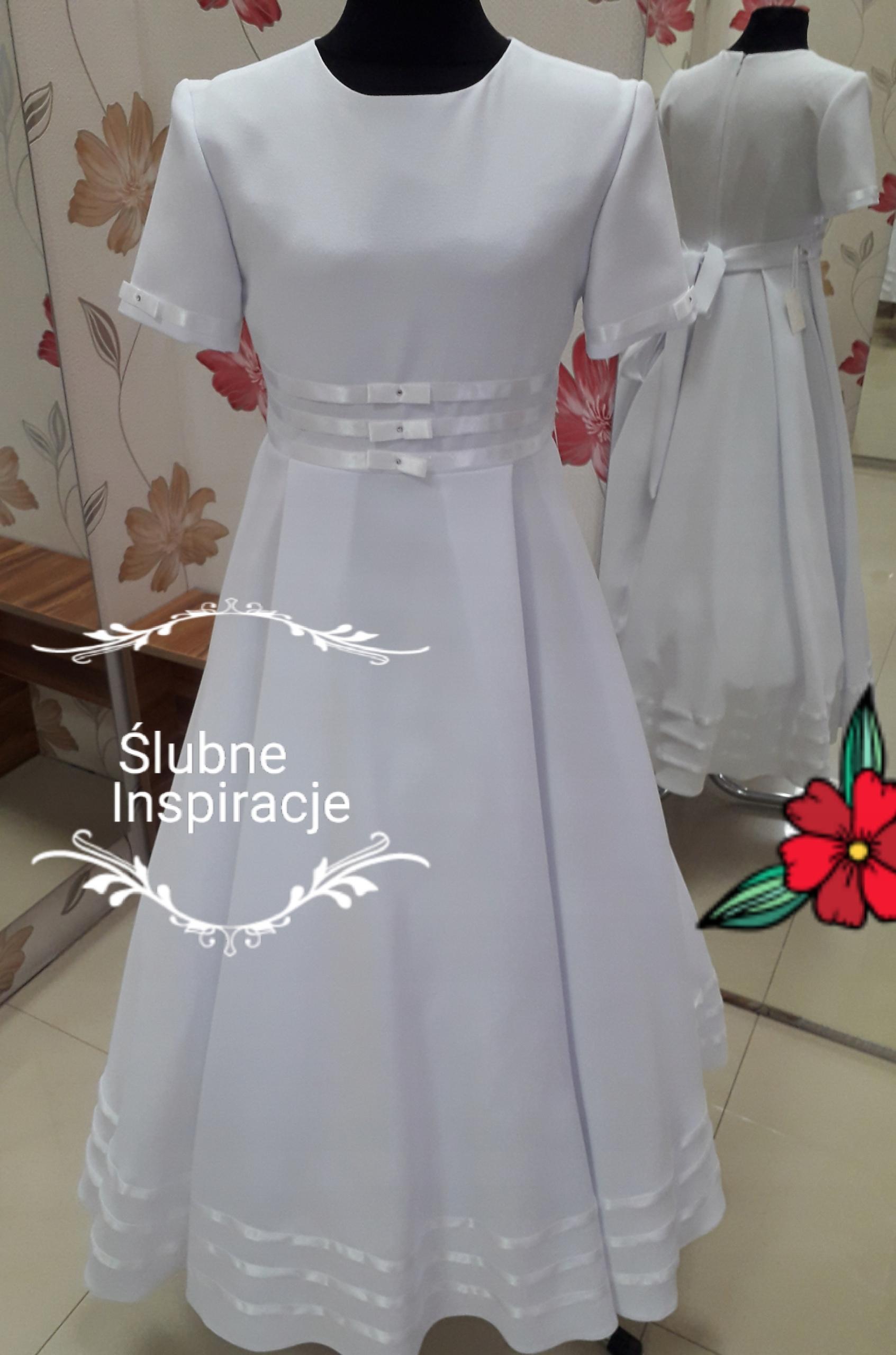 4da11c3ba0 Suknia komunijna