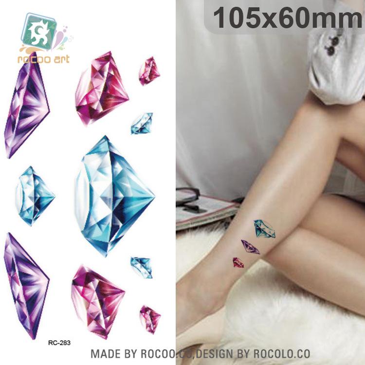 Tatuaz Wodny 3d Diamenty Kolorowe Zmywalne 7048583463 Oficjalne