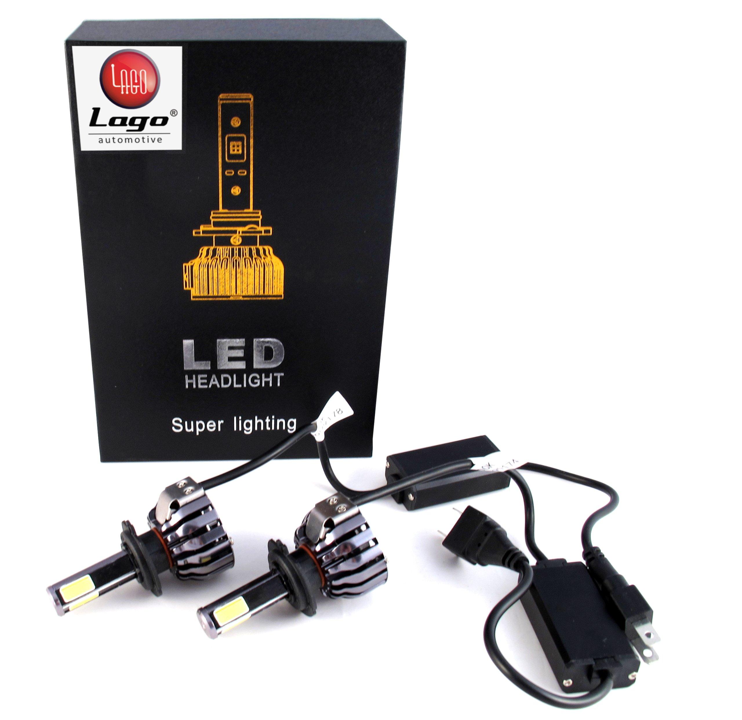 Zestaw żarówek LED H7 COB CHIP 12-24V 100W 9600LM
