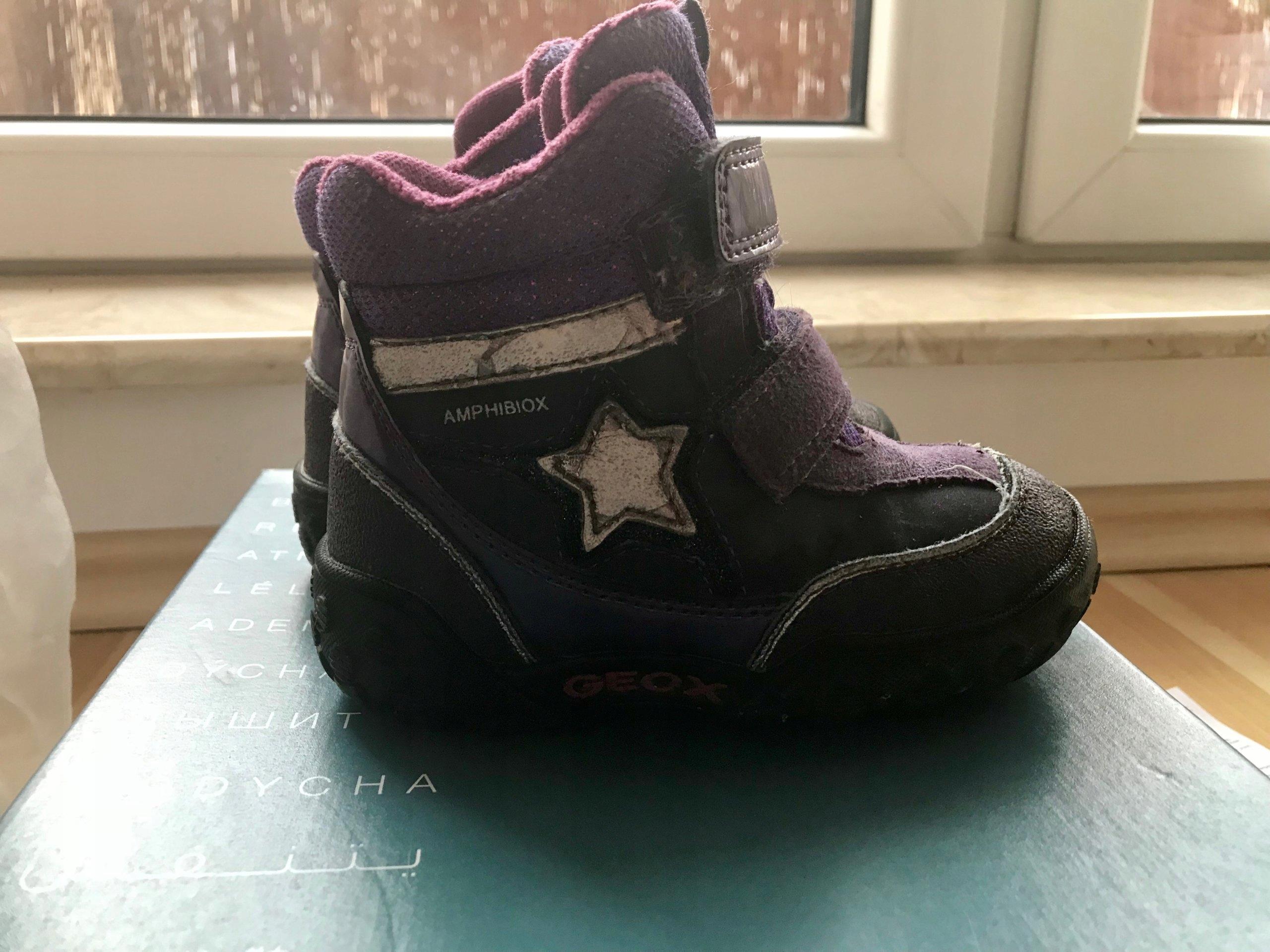 0043b39cf4e2b Zimowe buty Geox dla dziewczynki roz. 24 - 7144311435 - oficjalne ...