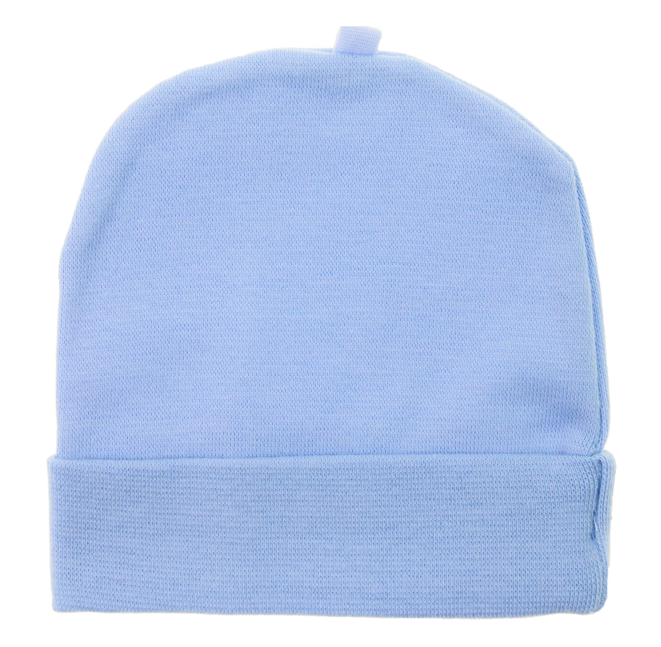 146256904b Czapeczka czapka smerfetka dla noworodka 34 36 0m+ - 7009467762 ...