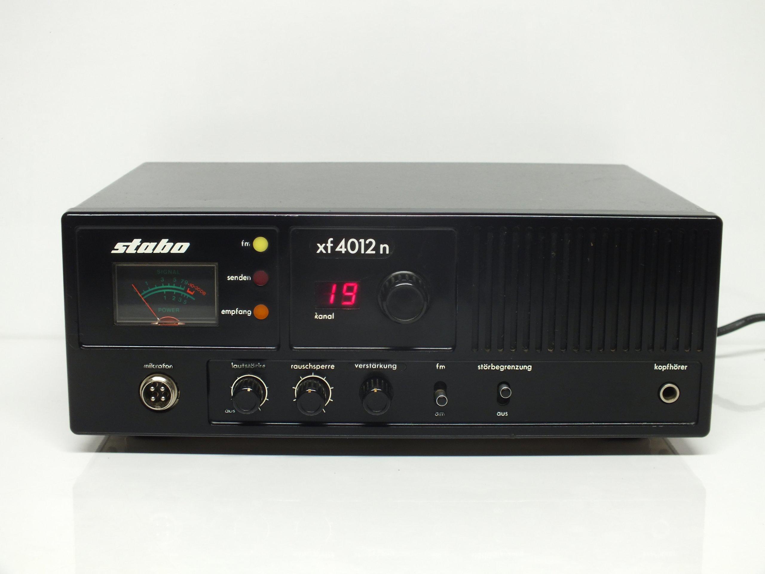 CB radio stacjonarne Stabo xf4012n Paragon