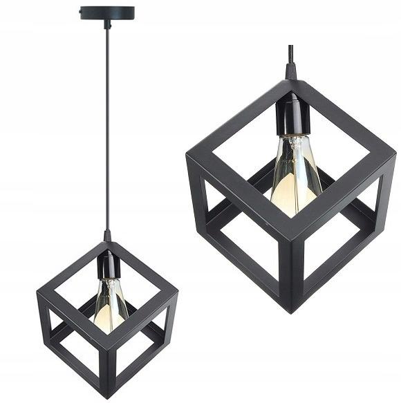 LAMPA SUFITOWA WISZĄCA LOFT INDUSTRIAL DENVER E27