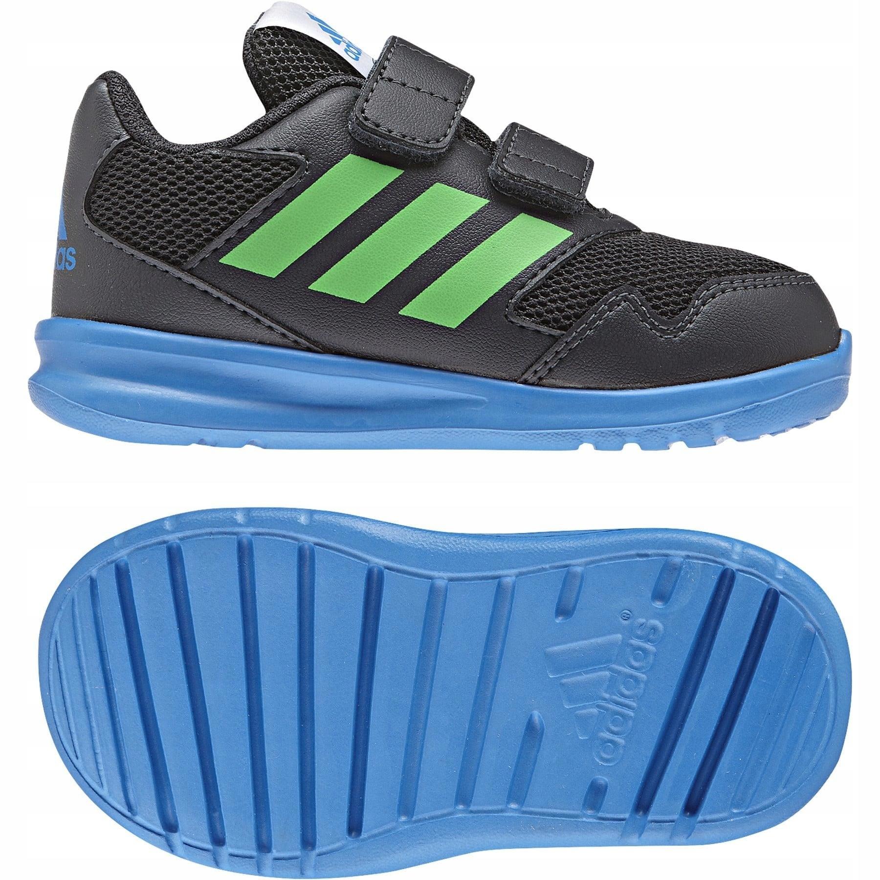 adidas Performance Buty dziecięce AltaRun Buty sportowe chłopięce niebieskie w