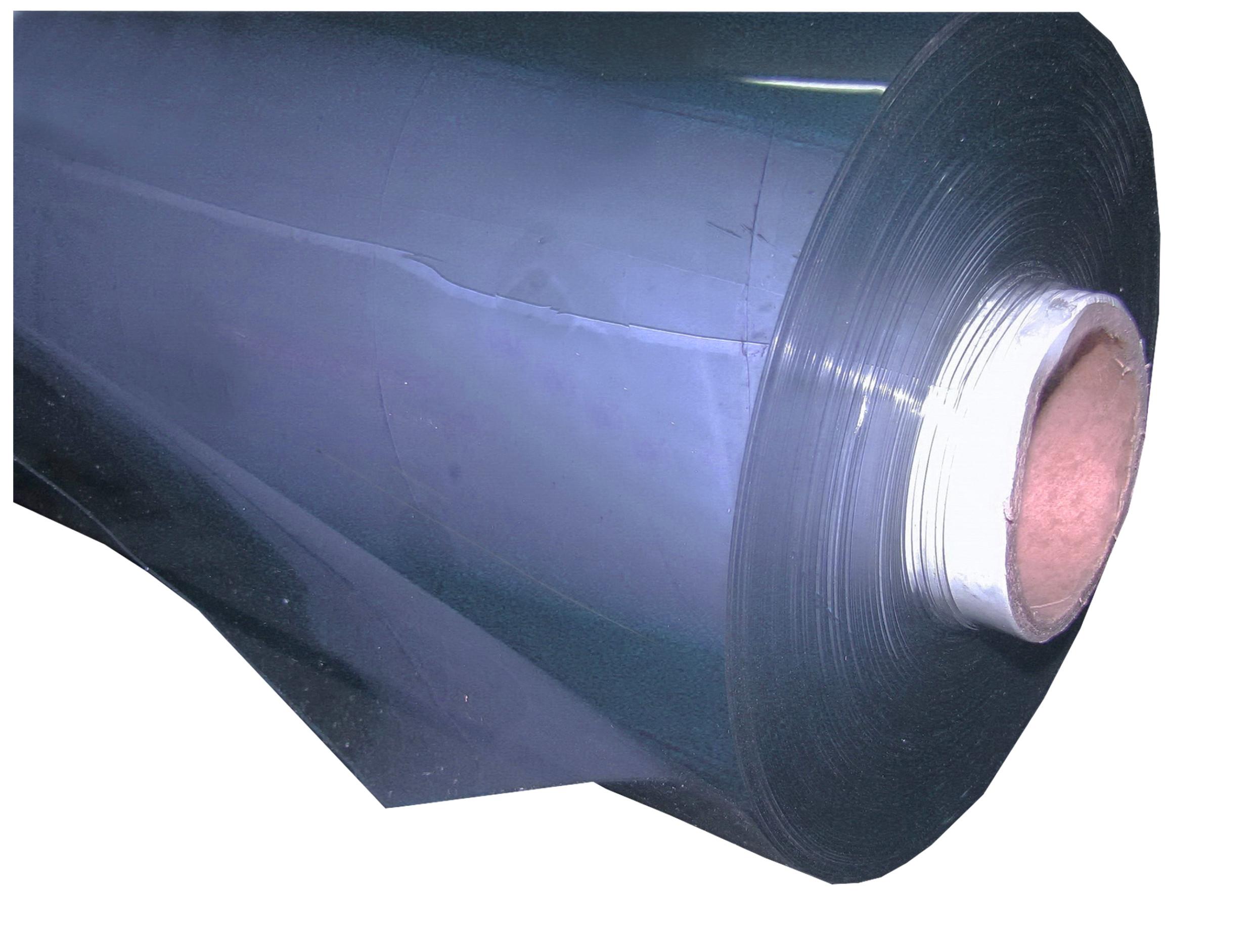 Tylko na zewnątrz FOLIA PRZEZROCZYSTA PVC PLANDEKA GRUBA 0,8MM/150CM - 7007145127 KD92