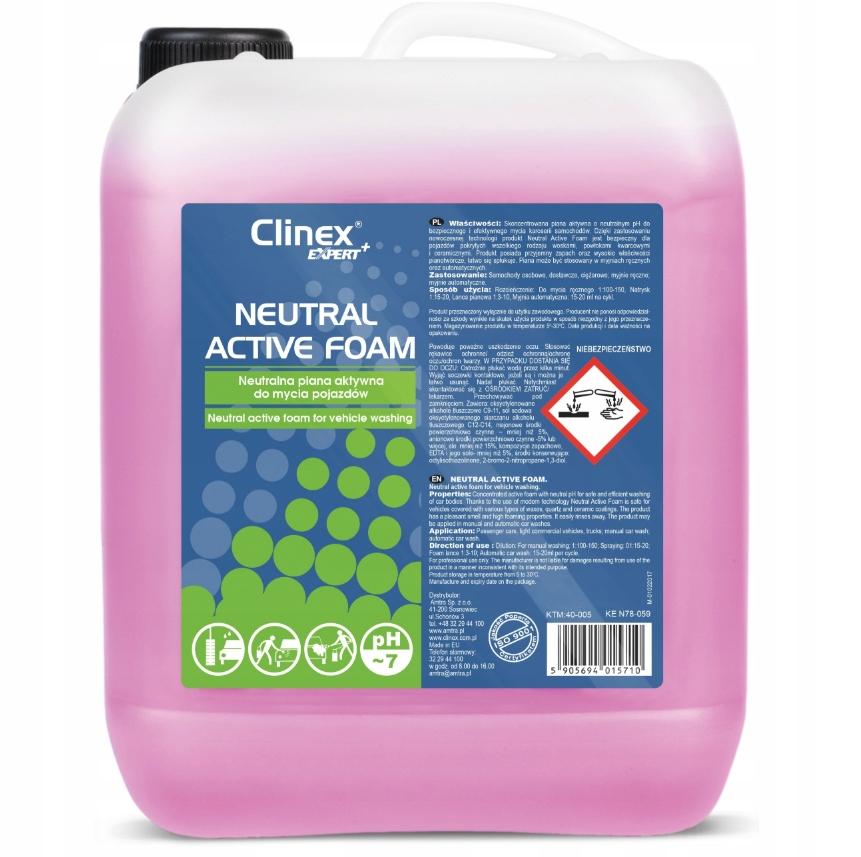 CLINEX- NEUTRAL ACTIVE FOAM - PIANA AKTYWNA - 20L