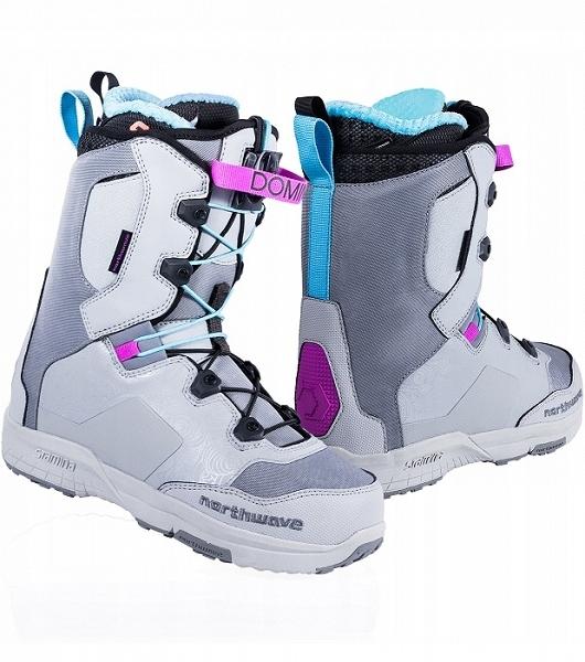 Buty Snowboardowe Northwave Domino grey 18/19 250