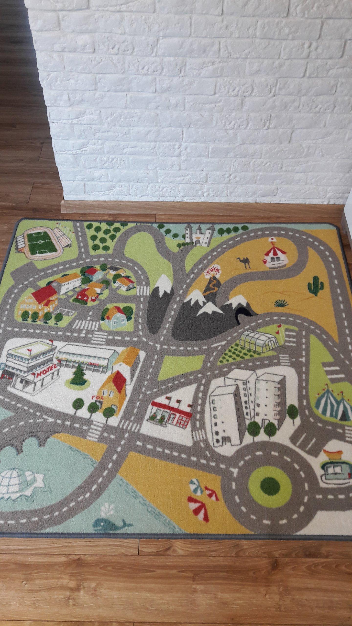 Ikea Lekplats Dywan Dziecięcy Jak Nowy Drogi Ulice 7114819636