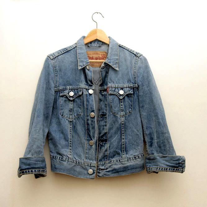 LEVI'S katana kurtka jeansowa vintage jeans (S)