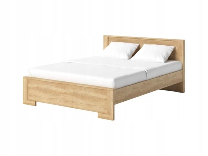 łóżko Nebraska Dąb Sonoma Agata Meble 7638145892