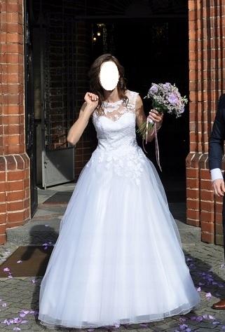98c6b55a6d suknia ślubna biała WROCŁAW! - 7513847212 - oficjalne archiwum allegro