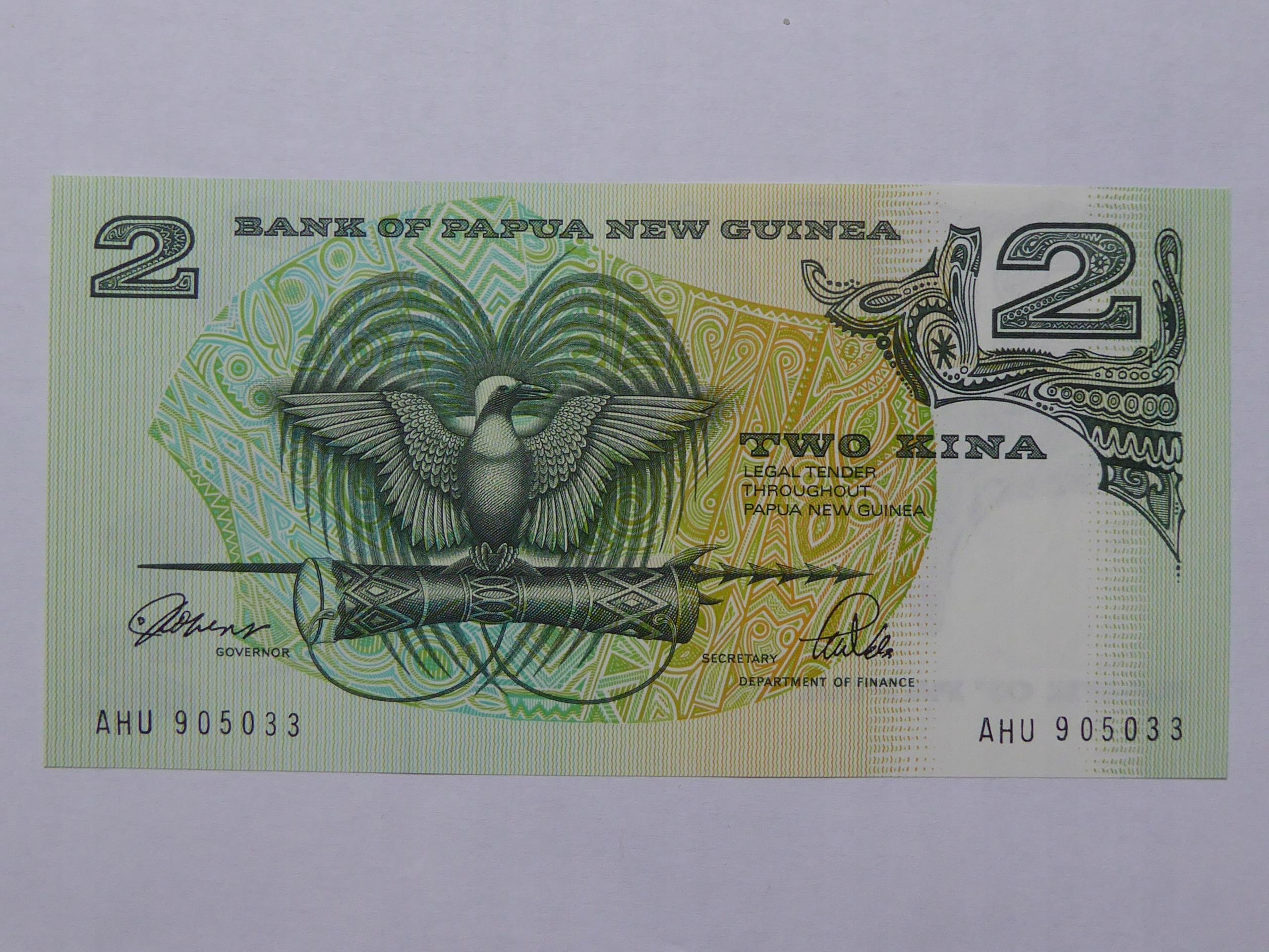 2 Kina Gwinea - 129