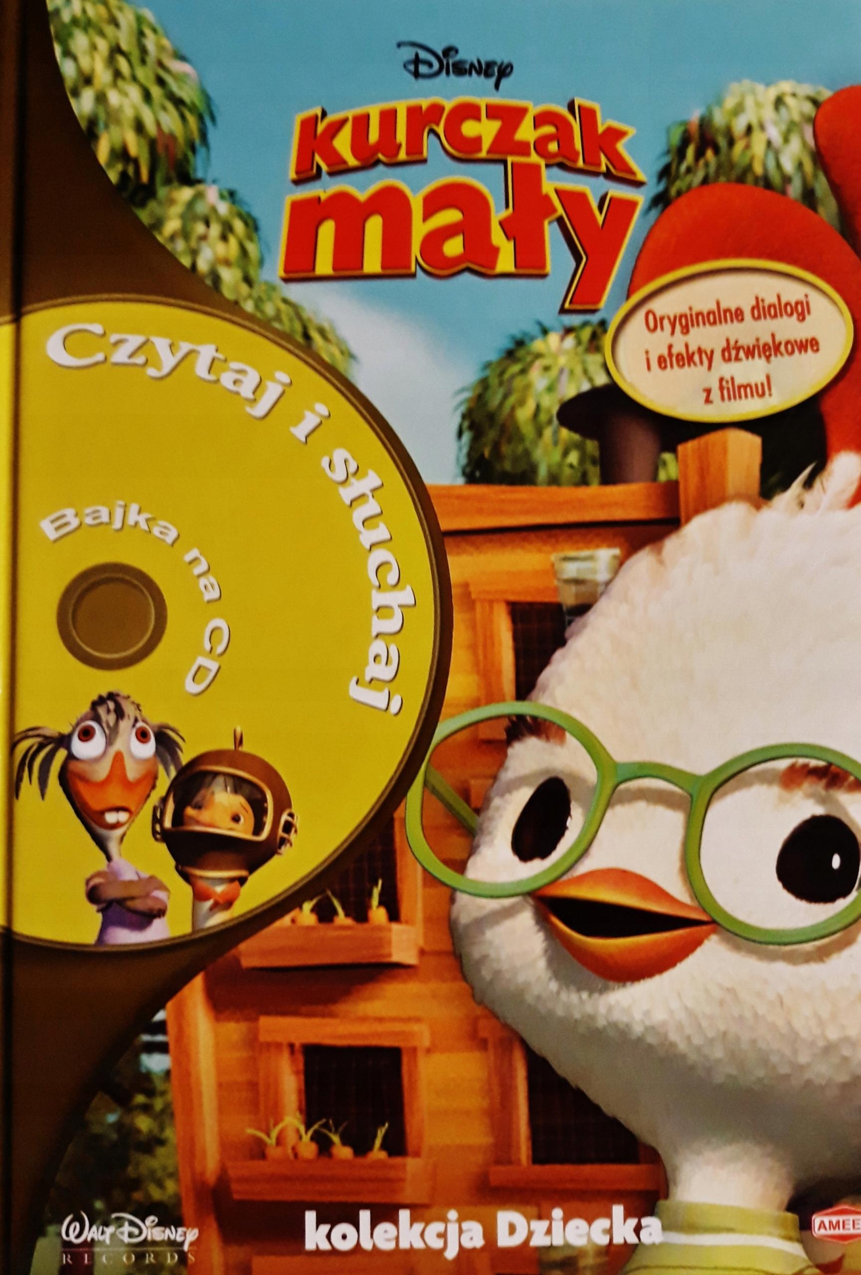 Kurczak Maly Disney Cd 1 7534440700 Oficjalne Archiwum Allegro