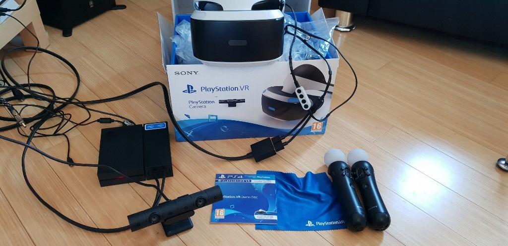 Gogle PlayStation VR Kamera Kontroler