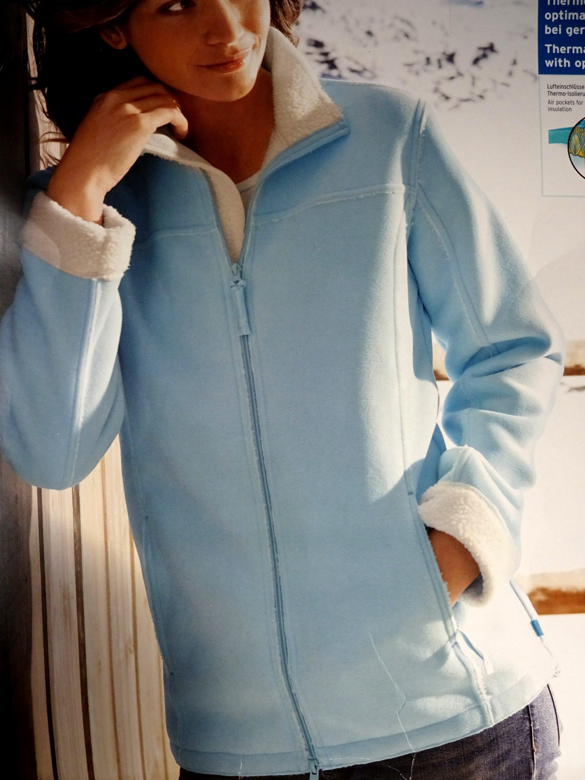 226b4aaf5d Sportowa bluza damska polar Tchibo rozm. 40 42 - 7240487218 ...