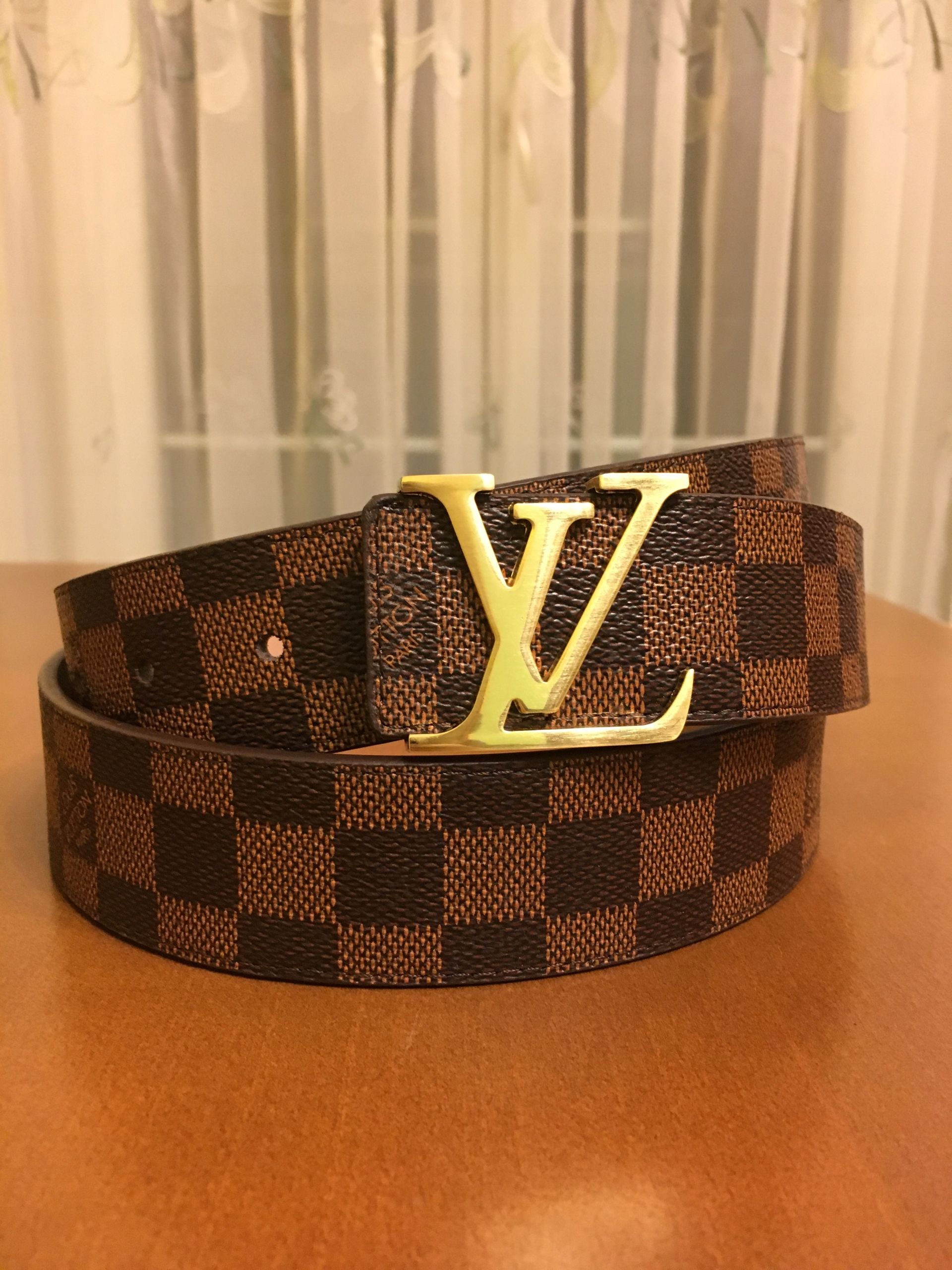 7c6bc3446e328 Skórzany pasek Louis Vuitton ! - 7661981592 - oficjalne archiwum allegro