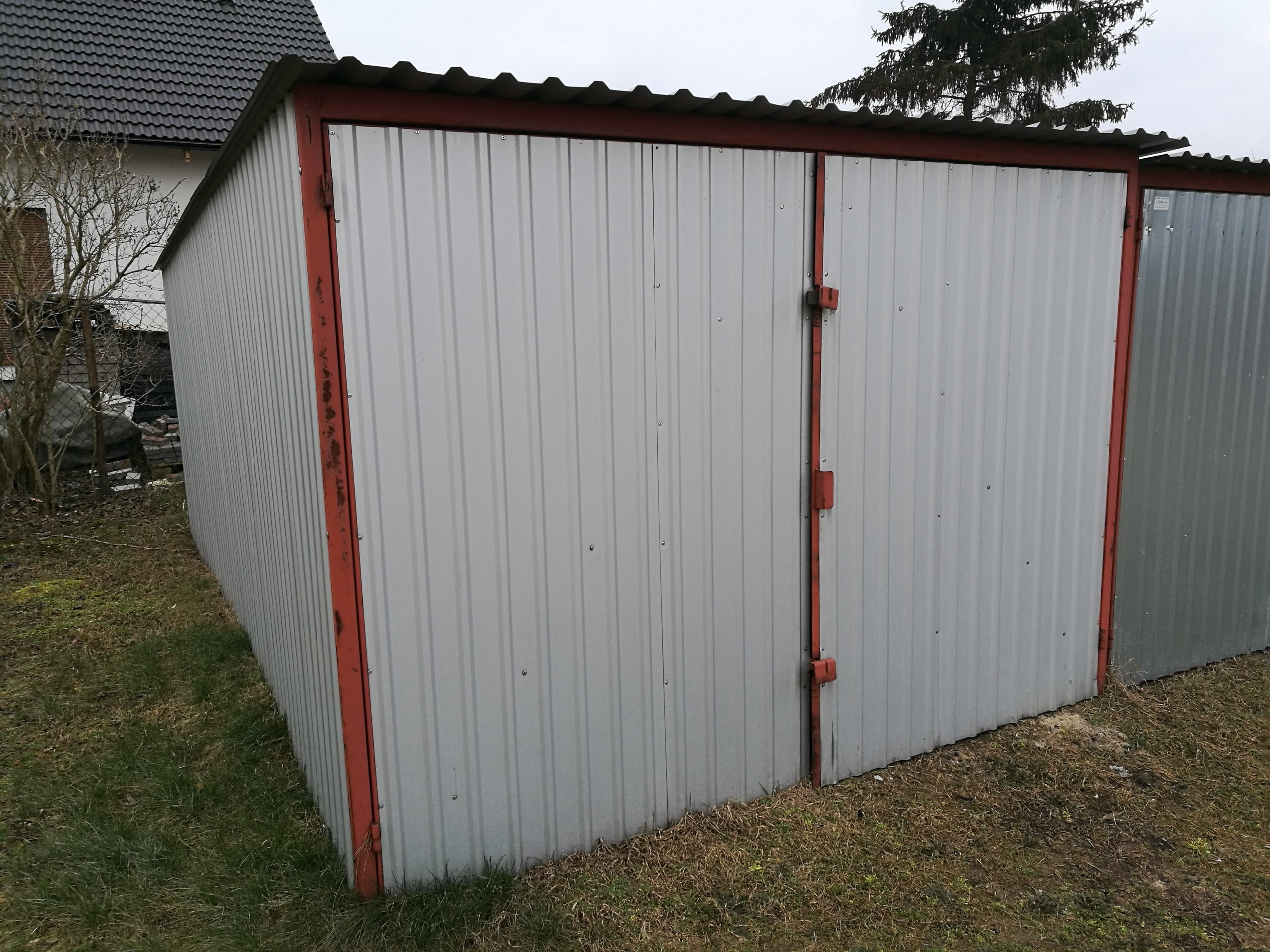 Garaż Blaszak 3x5 7194390712 Oficjalne Archiwum Allegro