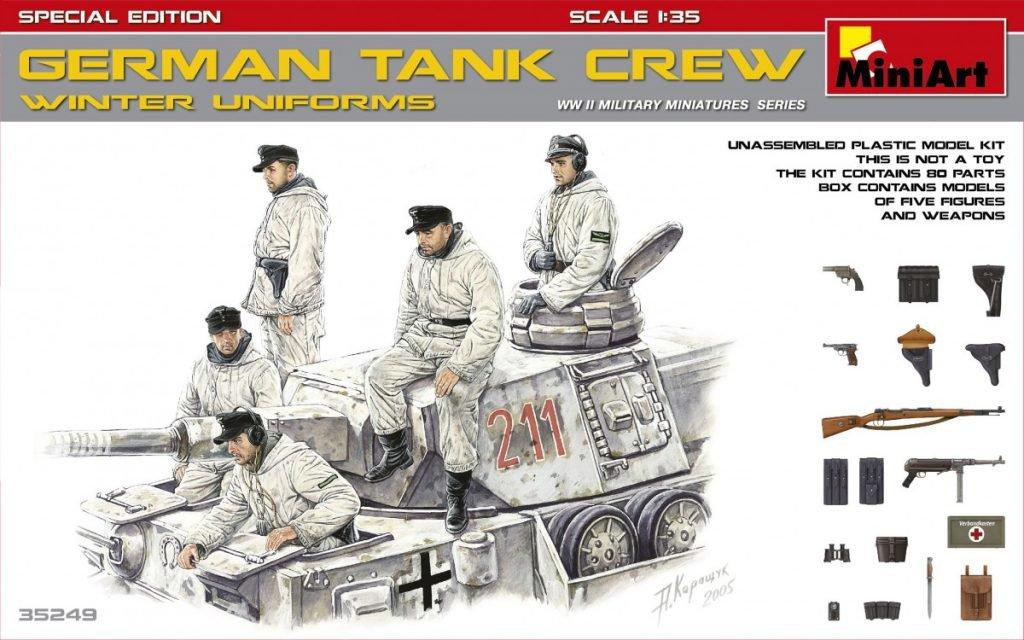 MiniArt 35249 German Tank Crew Winter Uniforms - S