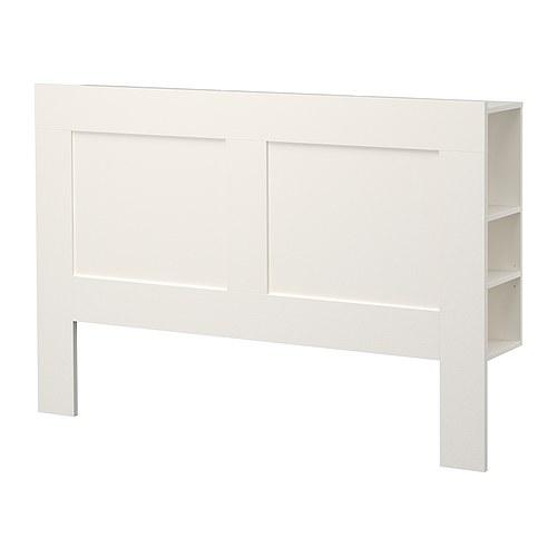 Ikea Zagłówek Do łóżka Brimnes Biały 6627479711