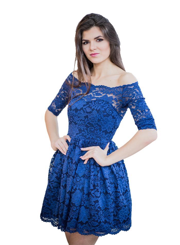995c2e09b44faa LaKey Cleo Sukienka Koronkowa Kolory 34-46 tu 44 - 6991665317 ...
