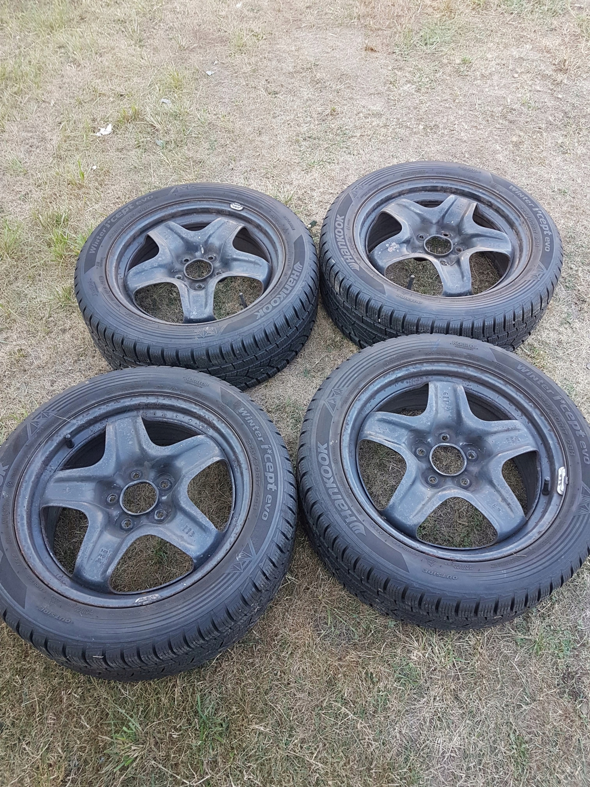 Felgi 17 5x115 2255017 Opony Zimowe Hankook 8mn 7575814857
