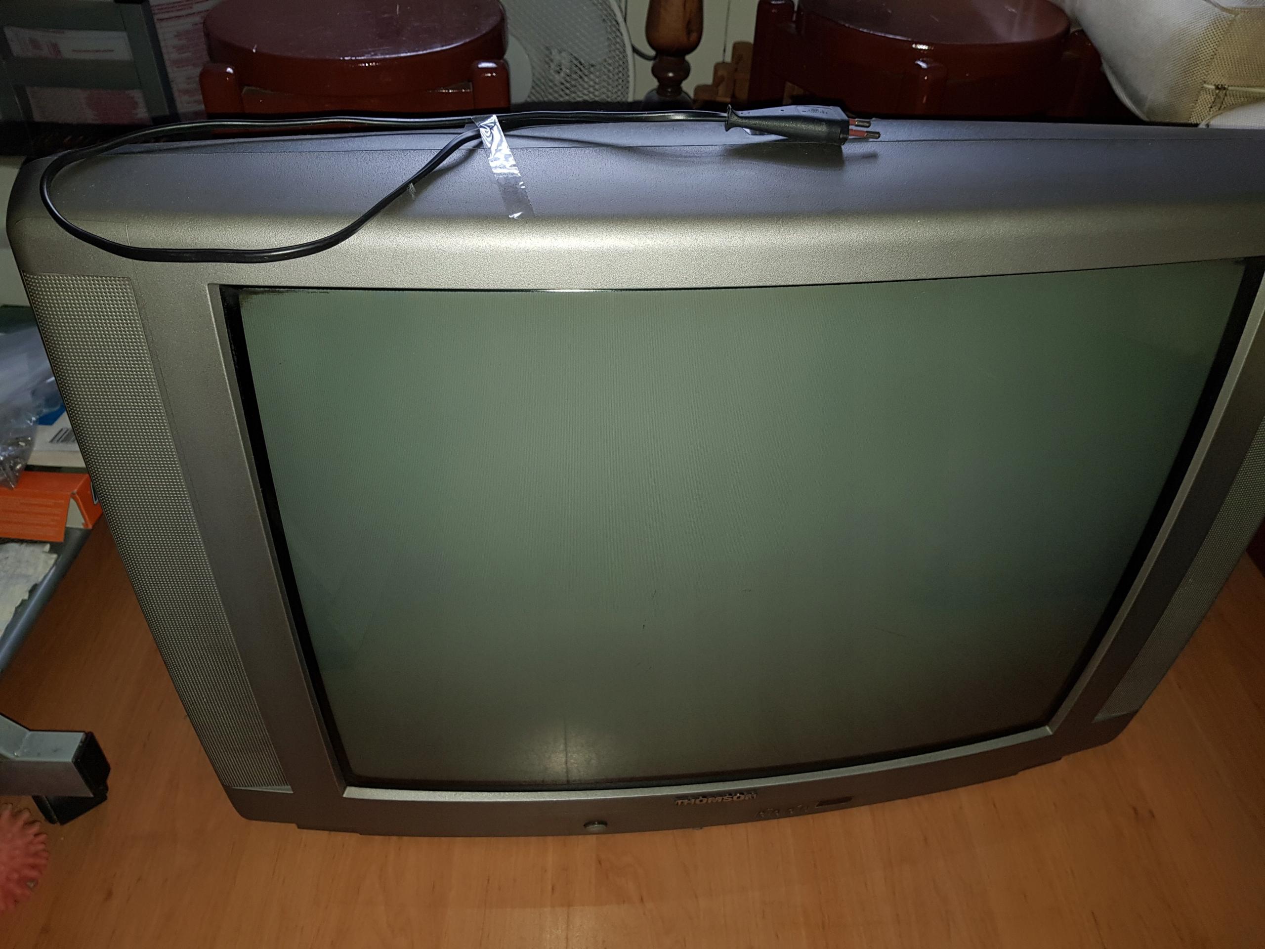 TV Thomson 28 cali kineskopowy + stolik RTV